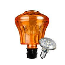Cabochon Combo Classic Orange inkl. LED