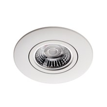 Daxtor New Line White round downlight incl. GU10 230v 20w Housing