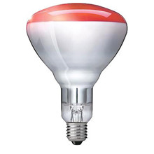Philips GLS Infrared varmepære BR125, E27 ES, 250W, RED