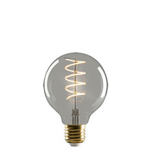 e3 LED Vintage G80 4W Spiral E27 Smoked 2200K Dimmable