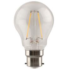 e3 LED Proxima A55, B22, 250lm, CL, 827