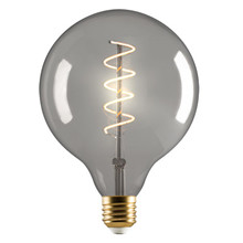 e3 LED Vintage G125 4W Spiral E27 Smoked 2200K Dimmable