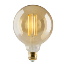 e3 LED Vintage G125 4 filament Golden dimmable