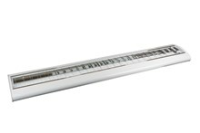 e3 Fixture Elegant, White, 2x1200mm T8-LED