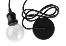 e3 Vintage LAMP Pendant Black