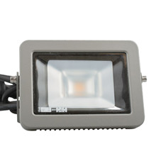 LED Floodlight 8,3W 760lm 3000K grå