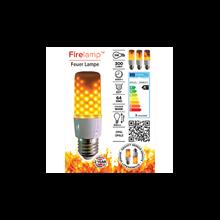 Firelamp LED E27 64 diodes opal WH