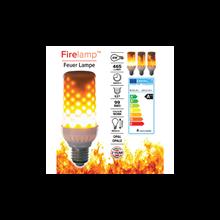 Firelamp LED E27 96 diodes opal
