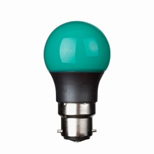 e3 LED P45B STD 0,3W 230V Green B22 20000 timer