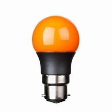 e3 LED P45B STD 0,3W 230V Orange B22 20000 timer