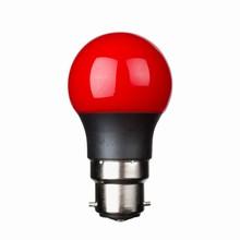 e3 LED P45B STD 0,3W 230V Red B22 20000 timer