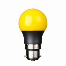 e3 LED P45B STD 0,3W 230V Yellow B22 20000 timer