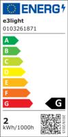 e3 LED Proxima ST26, E14, 85lm, Dimmable, 3-PAK