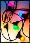 LAES LED G45 E27 0.9W Green