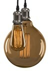 e3 Vintage LAMP Pendant Mat Pearl Grey