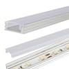 mylight Aluminium profil 153 cm til LED lysbånd