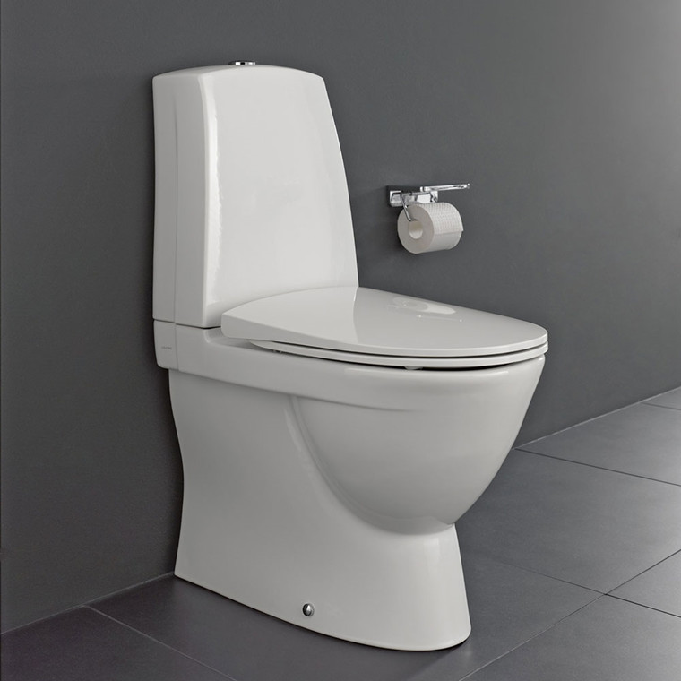 Laufen pro-n p-lås back-to-wall med LCC (easyclean)