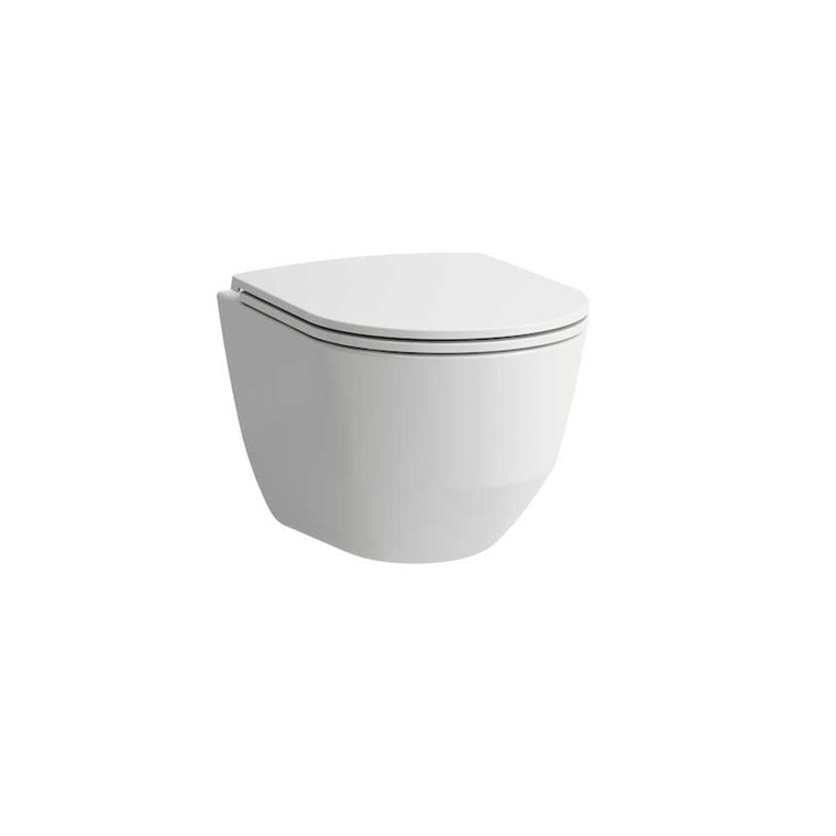 Laufen Pro-N Rimless hængetoilet med LCC, Compact