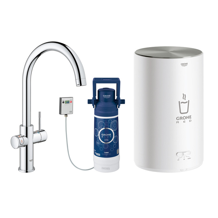 Grohe Red Duo Armatur C-tud, M-size kedel (3ltr)