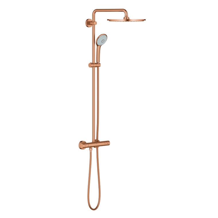 Grohe Euphoria 310 brusesystem, Børstet warm sunset