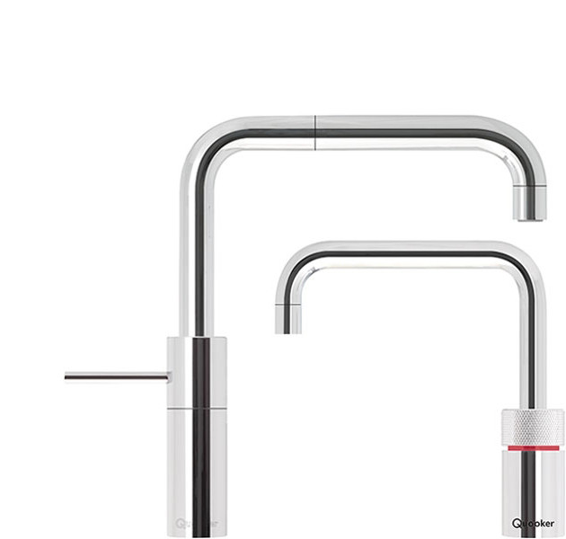 Quooker Nordic Square Twintaps inkl. Pro3vaq beholder