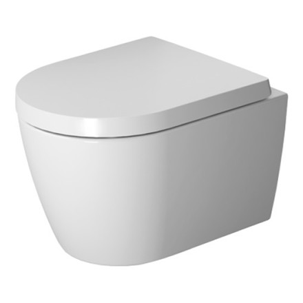 Duravit ME by Starck Rimless Hængeskål m/WonderGliss, Compact