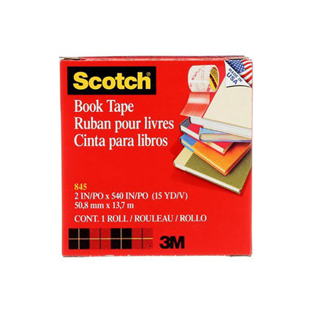 Scotch 3M bogtape - 845 50,8 mm. x 13,7 m.