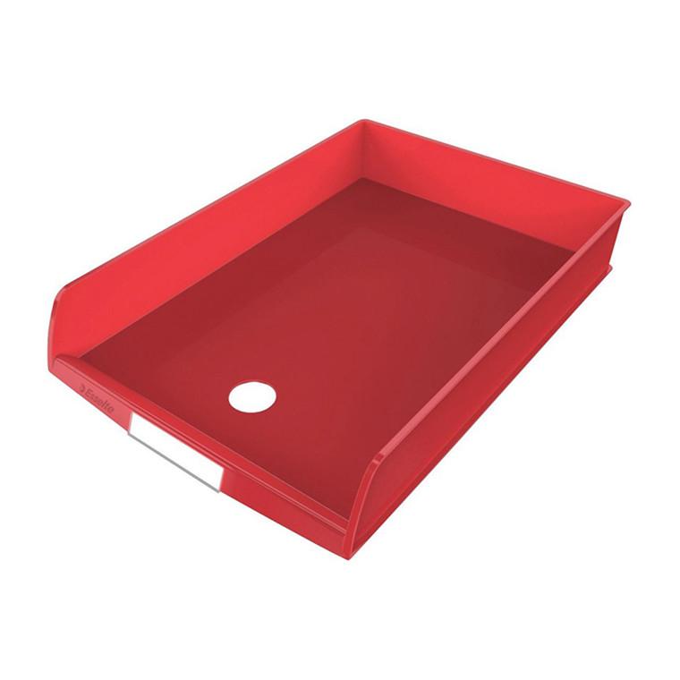 Esselte C4 brevbakke - A4, Rød