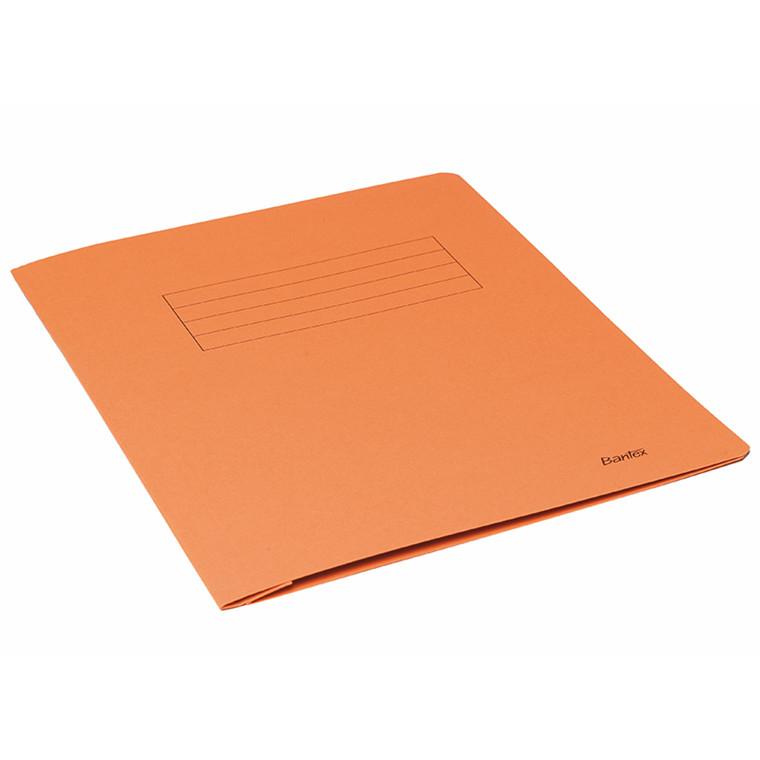 Arbejdsmappe A4 neutral orange 100 stk.