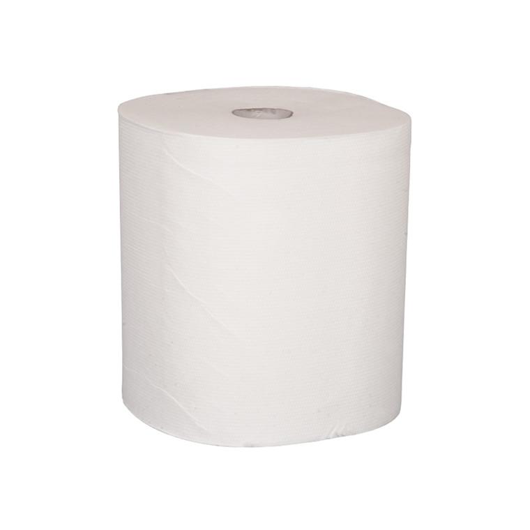 3-lags håndklæderulle - 100% nyfiber, 6 rl.