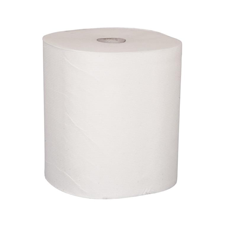 2-lags håndklæderuller - Midi, 100 % nyfiber, 6 rl.