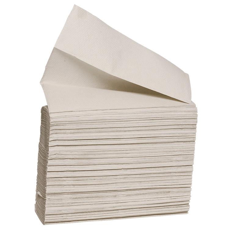 Papirhåndklæder i ark, Care-Ness nonstop, 1-lags - 15 pk