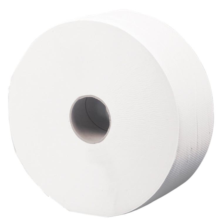 Abena toiletpapir, 2-lags - Midi, jumborulle 100 % genbrugspapir, 6 rl.