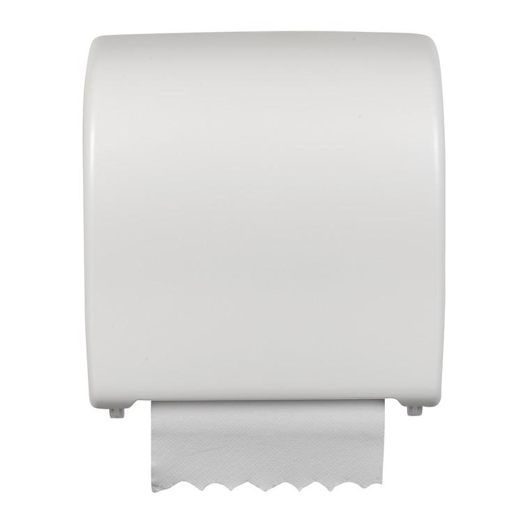 Dispenser til håndklæderuller - Ø35 cm, hvid
