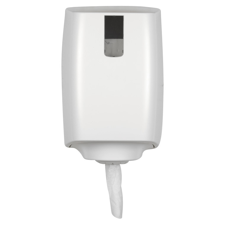 Dispenser t/håndklæderuller - Plast, Hvid