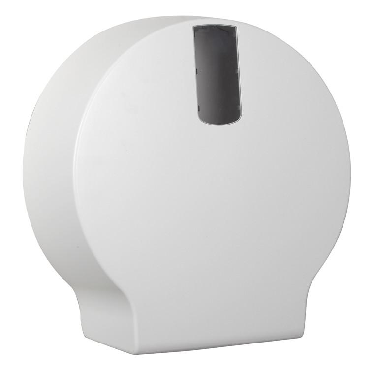 Dispenser t/toiletpapir, Midi jumboruller - White Classic, Ø33,5 cm