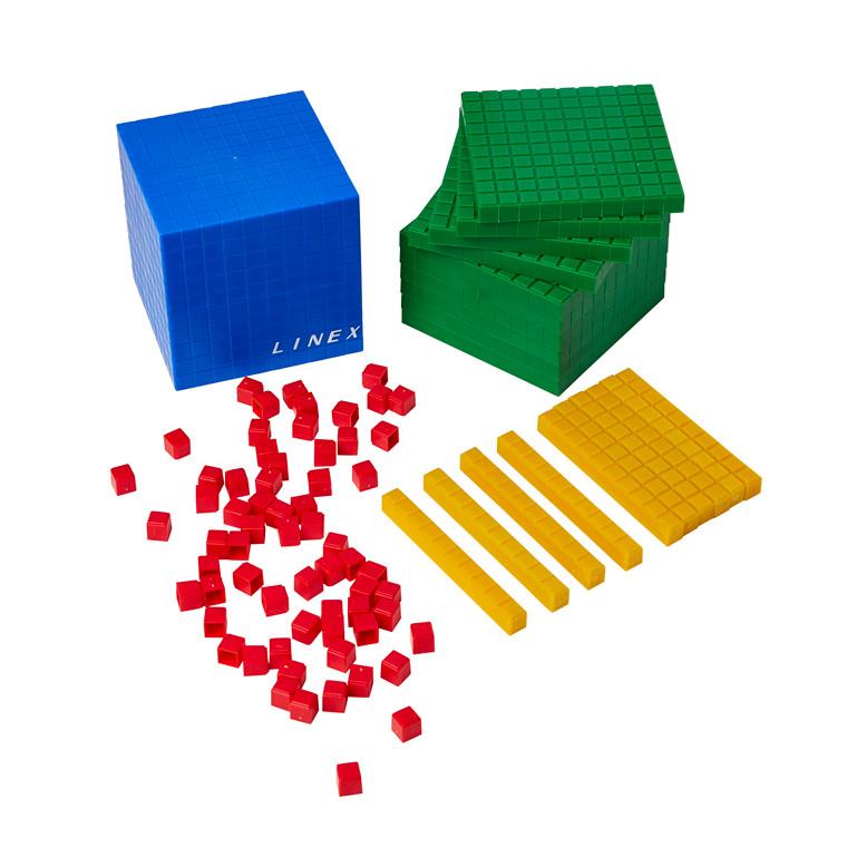 Linex 10-talssystem - 10 sæt, plast