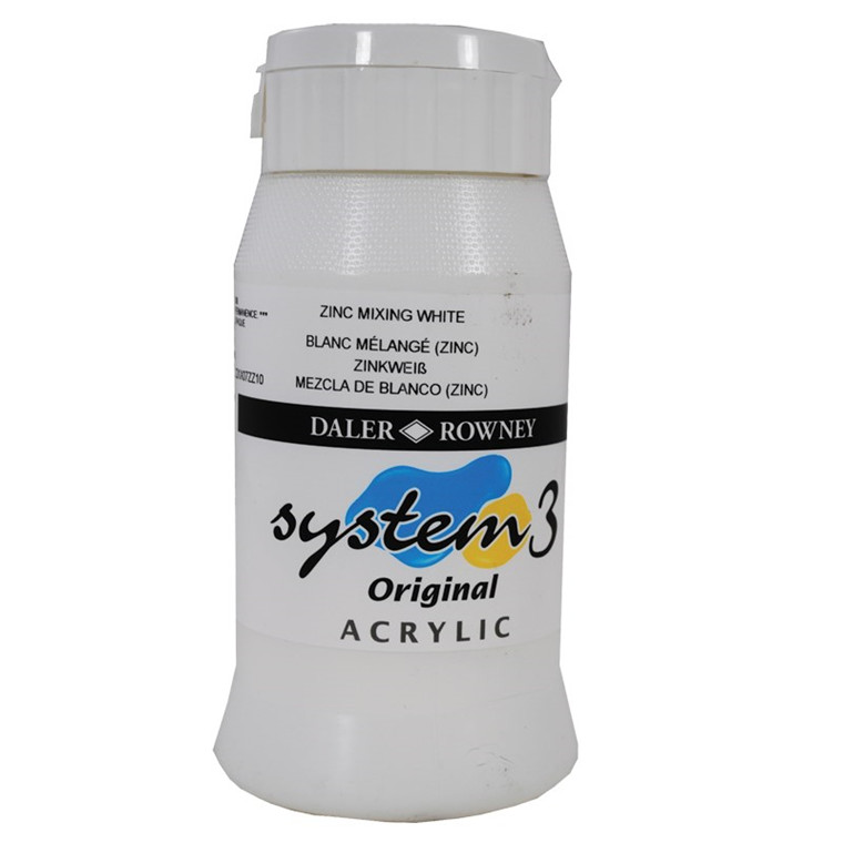 Daler Rowney - System 3 - 500 ml. zinc mixing