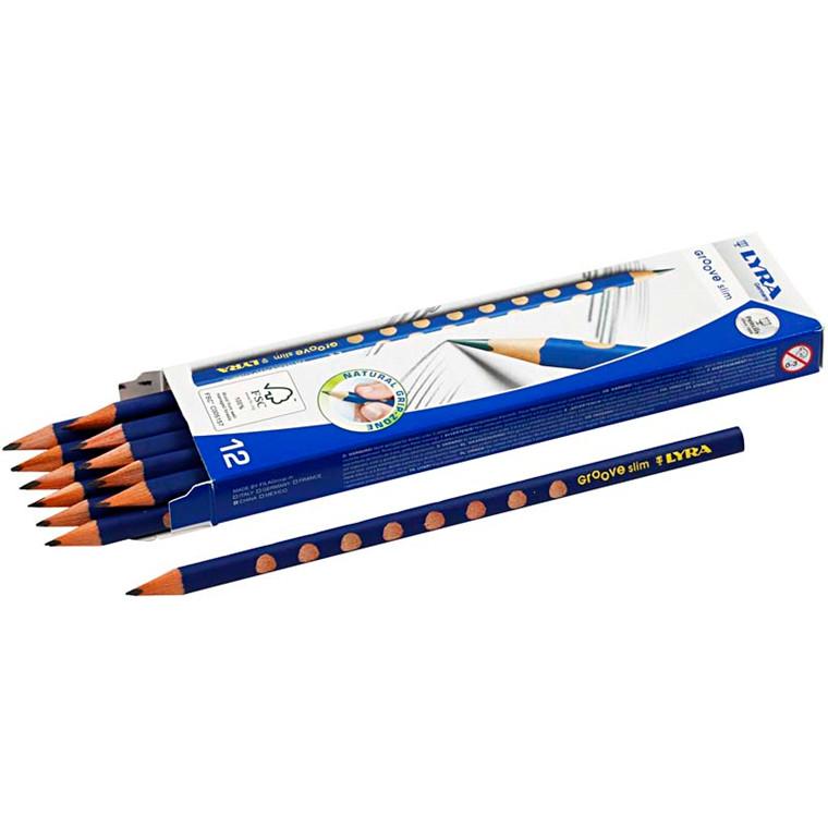 Lyra Groove Slim blyant, 12 stk.