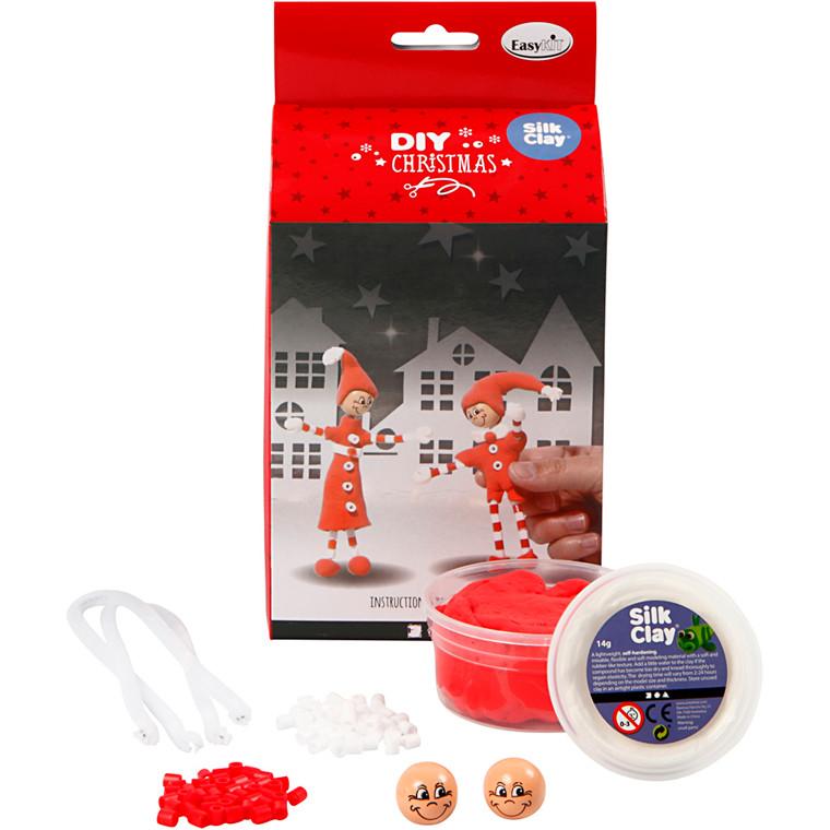 Christmas Friends, H: 13 cm, tyndbenet n