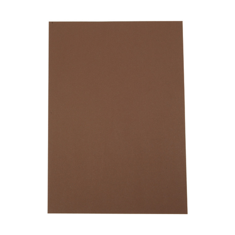 A4 karton 100 ark - 180 gram Brun