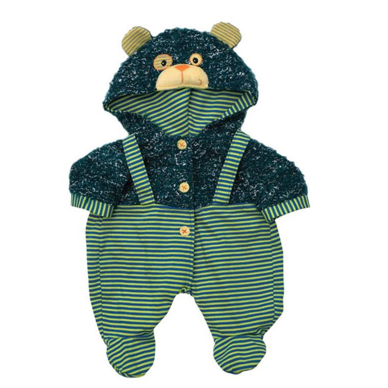 Rubens Baby Tøj - Overalls til Rubens baby dukken