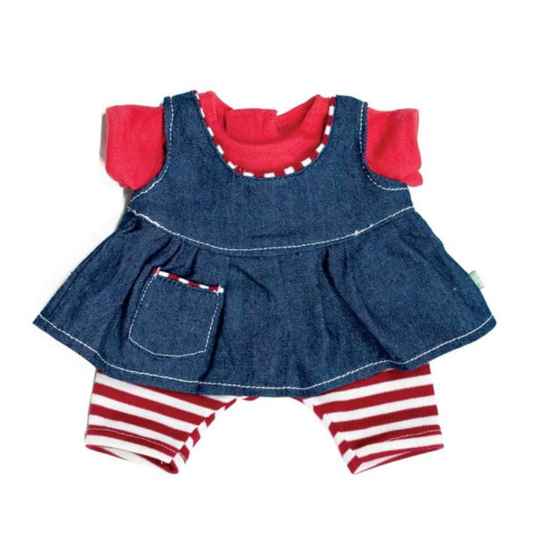 Rubens Kids Tøj - 3 stykker tøj til Olivia dukken
