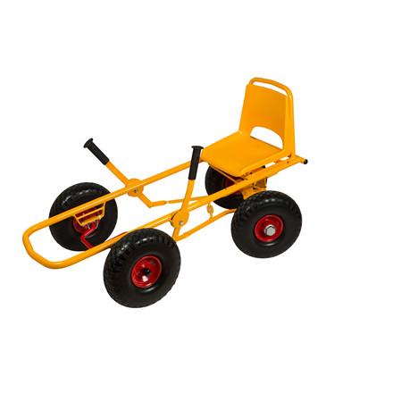 RABO Moon-Car Original Gokart - Punkterfri dæk