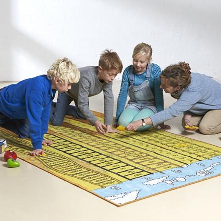 120-ords-tæppe - 200 x 130 cm, Fra 6 år