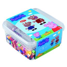 HAMA Maxi - Gurli Gris Box med perler og plader