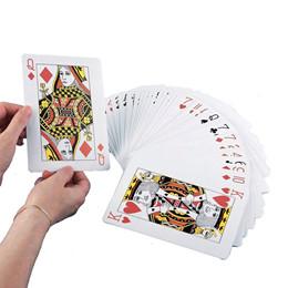 Spillekort, Jumbo - 1 sæt m 52 kort