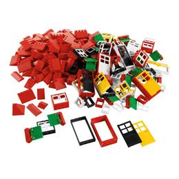 LEGO Education - Døre/vinduer/tagsten, 278 dele
