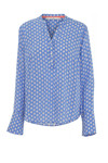 Coatamani ALEXIA Shirt, Blue diamond