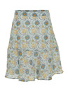 Costamani AURA skirt, Mint yellow flower